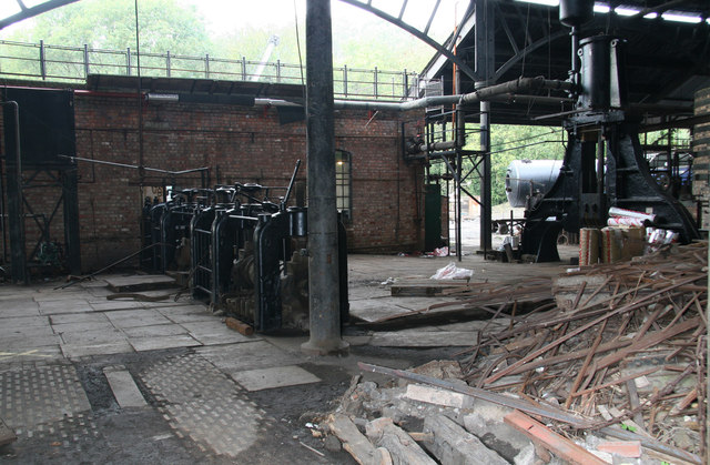 Blists Hill Victorian Town - ironworks