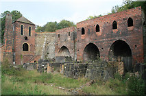 SJ6903 : Blists Hill - former blast furnaces by Chris Allen