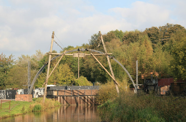 Blists Hill Victorian Town - replica of the Iron Bridge