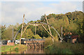SJ6903 : Blists Hill Victorian Town - replica of the Iron Bridge by Chris Allen