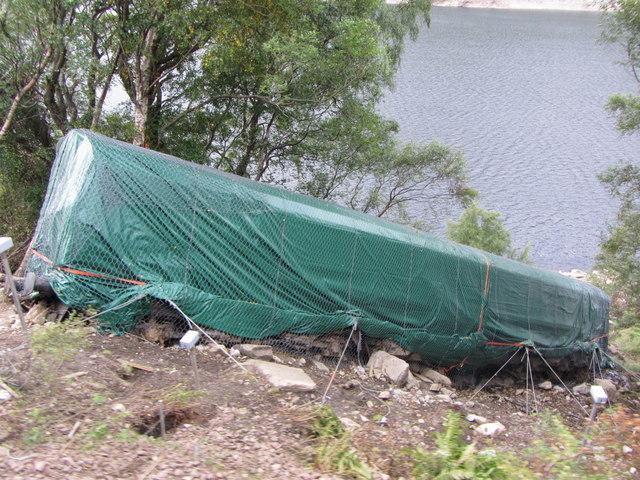 Derailment near Loch Treig