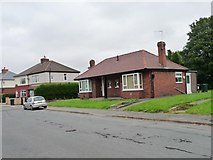 SE4111 : Bungalows in Park View, Brierley by Christine Johnstone