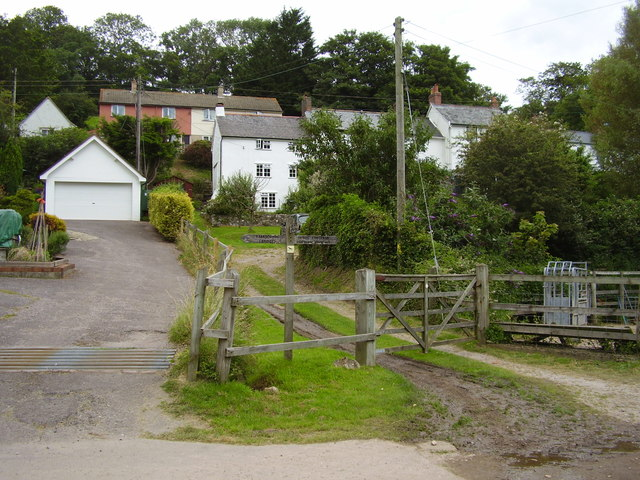 Foot Path at Branscombe
