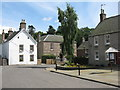 NO3846 : Main Street, Glamis by M J Richardson