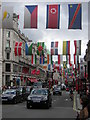 TQ2981 : Regent St W1 during the London Olympics by Christopher Hilton