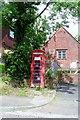 TQ7818 : Telephone kiosk, Sedlescombe by nick macneill