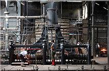 SJ6903 : Hot Iron - Inside the ironworks by Alan Murray-Rust