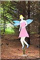 NT0939 : A fairy in the forest at Broughtonknowe by Jim Barton