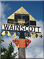 TQ7470 : Wainscott village sign by Oast House Archive