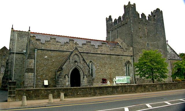 Adare - Main Street - Trinitarian Priory (1230) / Holy Trinity Abbey Church