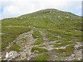 NN5138 : Path up Meall Ghaordaidh by G Laird