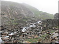 SH6254 : Afon Glaslyn cascading down towards Llyn LLydaw by John Light