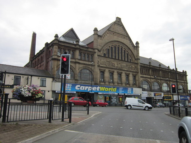 The Oldham Equitable Co-operative Society Building