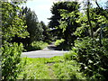 NZ1650 : Start of the former driveway to Greencroft Hall by Robert Graham