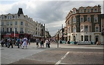 TG5307 : Great Yarmouth from near the pier by roger geach