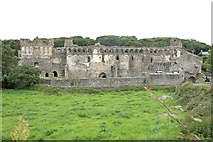 SM7525 : Bishop's Palace, St Davids by Andrew Hackney