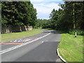NU1913 : The B1340 heading away from Alnwick by James Denham