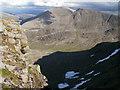 NN9498 : Sgor an Lochain Uaine and Cairn Toul by Peter S