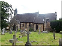 SK2566 : Church of St Katherine in Rowsley by Jonathan Clitheroe