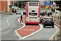 J3474 : Bus lane, Oxford Street, Belfast (2) by Albert Bridge