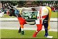 J3374 : Cow Parade, Belfast (3) by Albert Bridge