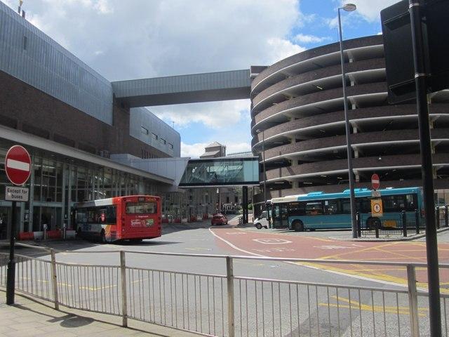 Eldon Square Bus Station 169 Graham Robson Cc By Sa 2 0