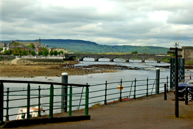 Limerick - Honan's Quay - Thomond Bridge
