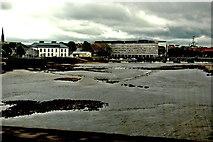R5757 : Limerick - Thomond Bridge - Downstream View of River Shannon  by Joseph Mischyshyn