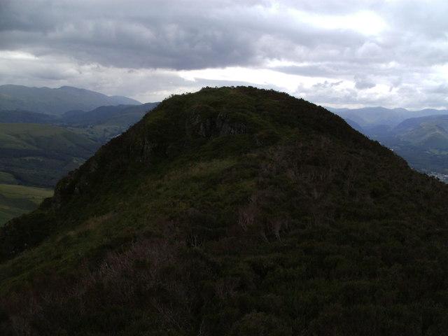 The summit of Carsleddam at close quarters