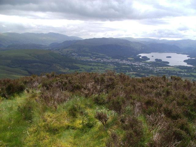The airy summit of Carsleddam