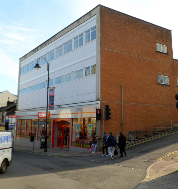 Iceland in former Woolworths premises, Tonypandy
