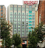 J3373 : The Europa Hotel, Belfast by Albert Bridge