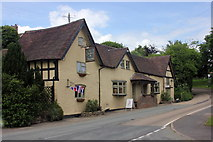 SO5793 : The Feathers, Brockton by Peter Turner