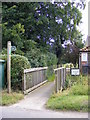 TM3679 : Footpath to Lodge Lane by Geographer