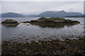 NN0259 : Skerries, Loch Linnhe by Ian Taylor