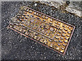 J4583 : Fire hydrant cover, Helen's Bay by Rossographer