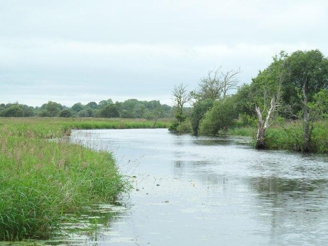 The Camlin River, near Termonbarry / Tarmonbarry, Co. Longford