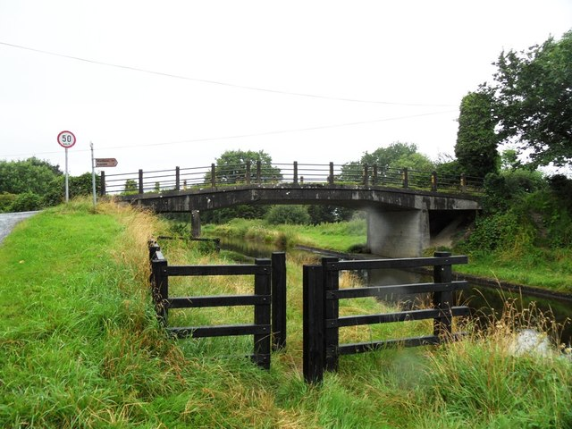 Becans Bridge on the Grand Canal near Rahan, Co. Offaly