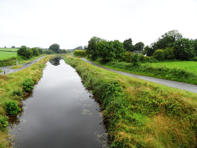 Grand Canal from Henesy's Bridge near Rahan, Co. Offaly