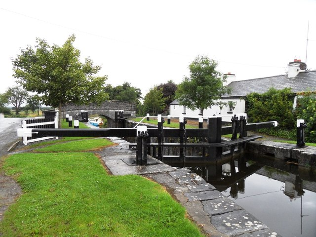 Lock No. 31 on the Grand Canal in Cornalaur, Co. Offaly