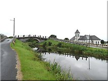 N1925 : Plunkett Bridge on the Grand Canal in Pollagh, Co. Offaly by JP