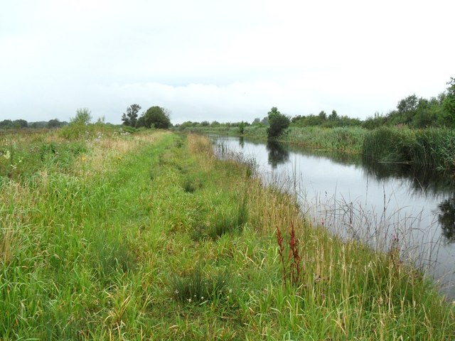 Grand Canal in Turraun, west of Pollagh, Co. Offaly