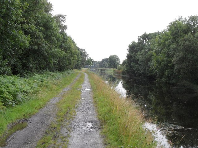 Grand Canal in Turraun, Co. Offaly