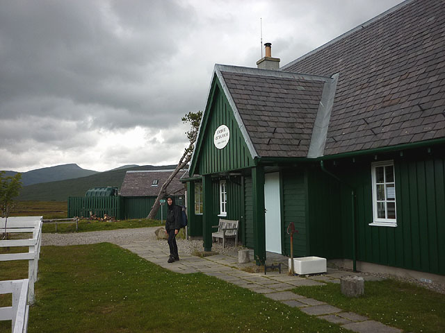 Corrour Station House hostel - under new management