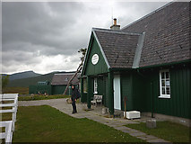 NN3566 : Corrour Station House hostel - under new management by Karl and Ali