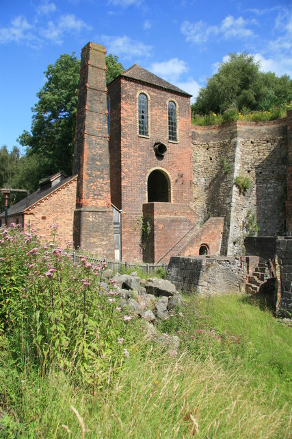 Blists Hill Victorian Town - engine house