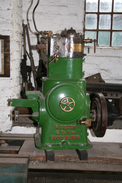 Blists Hill Victorian Town - Sisson steam engine