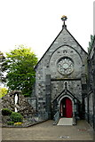 R3377 : Ennis - Francis Street - Franciscan Friary - Left (East) Rear Entrance to Chapel  by Joseph Mischyshyn