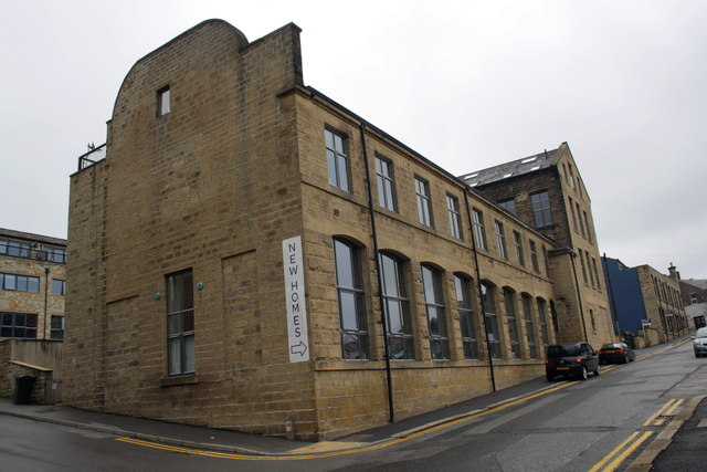 Works converted to housing on Whitley Street