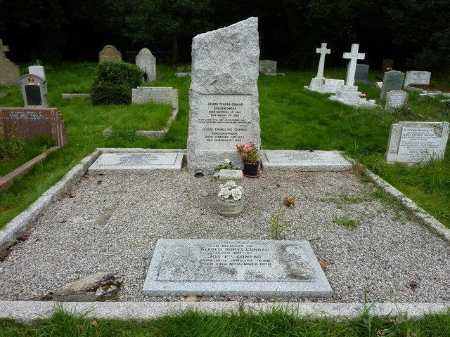 The Joseph Conrad grave, Canterbury Cemetery